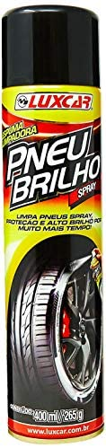 Limpa Pneu Spray Luxcar 400 Ml