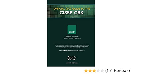 Amazon Com Official Isc 2 Guide To The Cissp Cbk Isc 2 Press