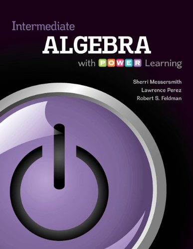 Intermediate Algebra with P.O.W.E.R. Learning with Connect hosted by ALEKS Access Card 52 Weeks