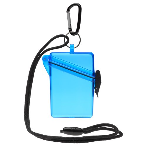 Witz 00402-Blue See it Safe Waterproof ID/Badge Holder Case, Blue