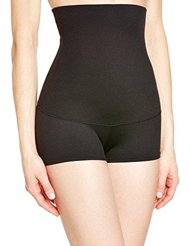 camellias-womens-flexible-fit-tummy-control-high-waist-boyshort-body-shaping-brief-sz7113-black-m