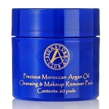 Signature Club A by Adrienne Precious Moroccan Argan Oil Cleansing Makeup Remover Pads by scthkidto