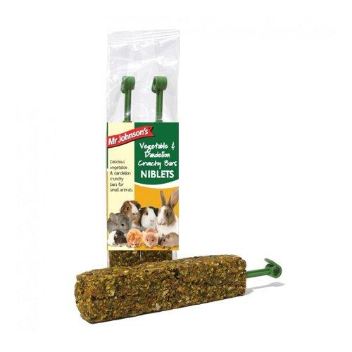 Mr Johnson's Crunchy Bars - Vegetable & Dandelion