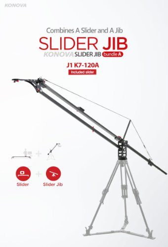 Konova Slider Jib Bundle A J1 K7 120A 47.2 Inch (Include K7 120cm Slider) by KONOVA