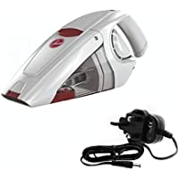 Hoover Gator 10.8V Cordless Handheld Vacuum Cleaner with Built-In Cervice for Home, Office & Car, HQ86-GA-B-ME White