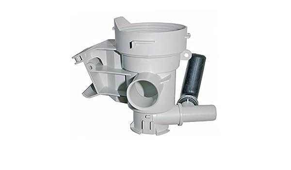 Auténtica Miele lavadora bomba de desagüe de filtro de la unidad ...