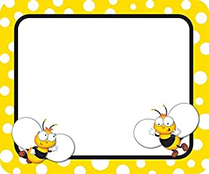 Amazoncom Buzz Worthy Bees Name Tags Office Products