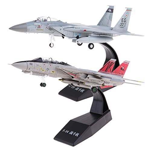 Fenteer 1/100 Metal American F-14 &F-15 Aircrafts Fighter for sale  Delivered anywhere in USA