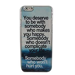 LIMME Find A Happy Person Plastic Hard Back Cover for iPhone 6 Plus