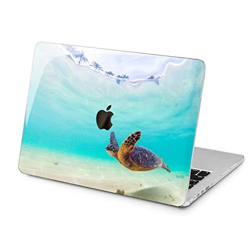 Lex Altern Ocean Blue MacBook Pro 15 2018 Air 13 inch Apple Hard Case Mac 12 11 2016 2017 Cute Turtle Retina Protective Summer Cover Print Plastic Lightweight Touch Bar 2015 Laptop Women Girly Sea
