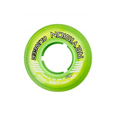 Revision Wheel Inline Roller Hockey Clinger Goalie Green 47mm 74A : Sports & Outdoors