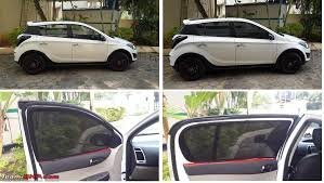 Petrox Car Window Magnetic Sun Shades   Curtain Sun Shade For Hyundai Grand  i10 8799c2ffde2