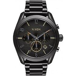 Nixon A366-1616 Ladies Bullet All Black Mixed Chrono Watch