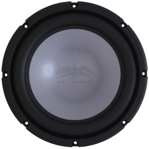 "Wet Sounds XS Series 12"" 4 Ohm Silver High Performanc Marine"