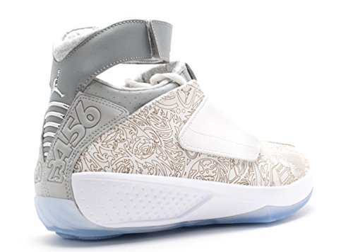 Silver Jordan White Shoes Handball XX white Laser Metallic Silver Air Men White Nike qzEPAA