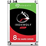 HD Interno Seagate | NAS IronWolf | Prata | 8TB | ST8000VN0022 Seagate, HD interno, Prata
