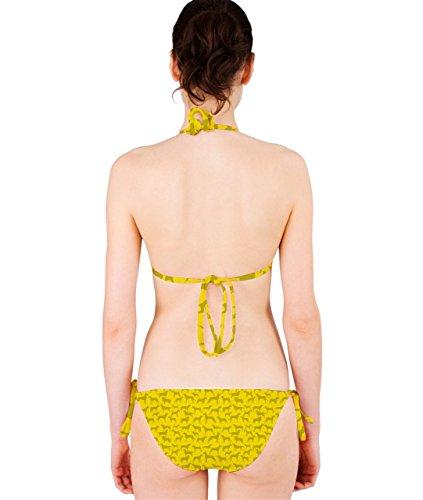 CowCow - Conjunto - para mujer amarillo