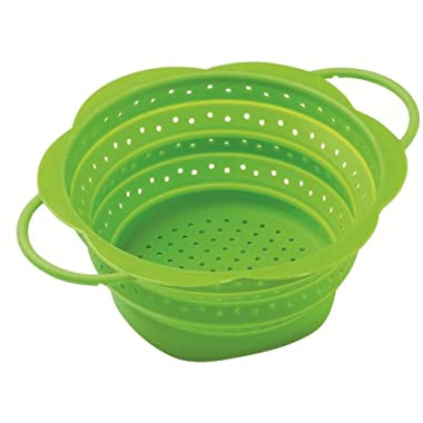 Kuhn Rikon Collapsible Colander, Large, Green