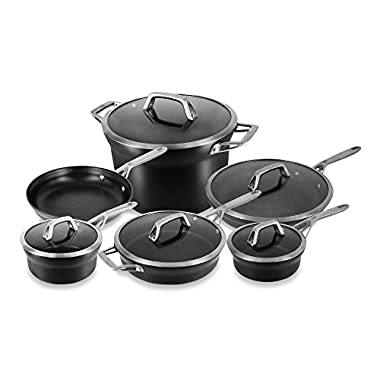 Zwilling Motion Nonstick Hard Anodized 11-Piece Cookware Set