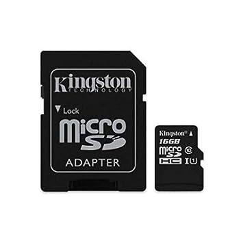 Tarjeta Micro SD, SDHC, 16 GB, clase 10, UHS-1-Adaptador ...