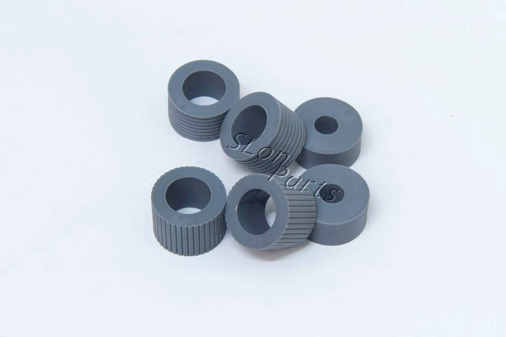 Printer Parts PA03338-K011 PA03576-K010 for Fujitsu Fi-5750C Fi-5650C Fi-6670 Fi-6670A Fi-6770 Fi-6770A Fi-6750S Brake Pickup Roller Tire by Yoton (Image #2)