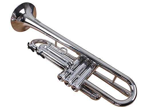 Tromba TP1-SL Plastic BB Trumpet, Silver