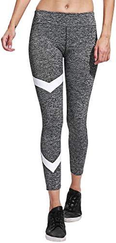 Women High Waist Tight Yoga Pants Trousers Stripe Exercise to Lift Buttocks Pants