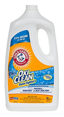 Arm & Hammer Carpet Cleaner Oxiclean Extractor Chemical, 64 oz,