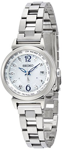 SEIKO WATCH LUKIA Lucky Passport Solar Radio wave Sapphire glass Super clear coating 10atm SSVV001 Lady's