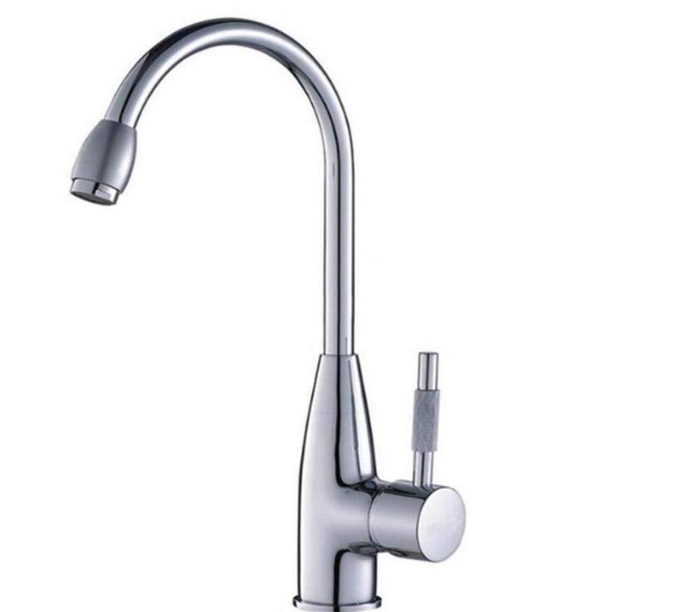 Küche Bad Wasserhahn360 Grad Swivel Alloy Küchenmixer Kalte Und Heiße Becken Waschbecken Mischbatterie Küchenhahn