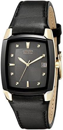 Citizen Men s BM6574-09E Eco-Drive Leather Watch