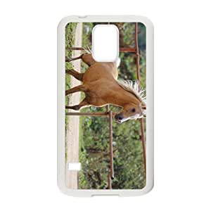 The Horse Hight Quality Plastic Case for Samsung Galaxy S5 by mcsharks