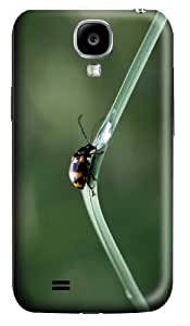 Customized Samsung Galaxy S4 3D Phone Cases - Personalized Black Beetles With Orange Spots Cover