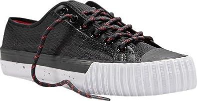 e7f75580848c7 PF Flyers Unisex Shoes Center Lo Black Sneakers PM14OL1A (6.5 Men/ 8 ...
