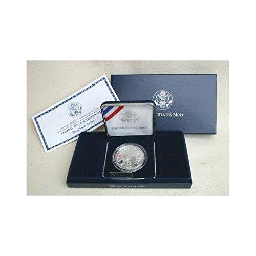 American Buffalo Commemorative Coin - 2001 Proof American Buffalo Commemorative Silver Dollar