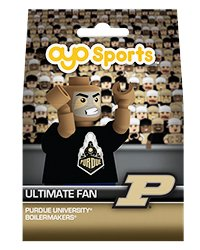 (OYO NCAA Purdue Boilermakers Ultimate Fan Minifigure, Small, Black)