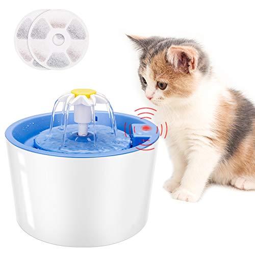 Fuente Dispensador Bebedero de Agua Automática para Gatos