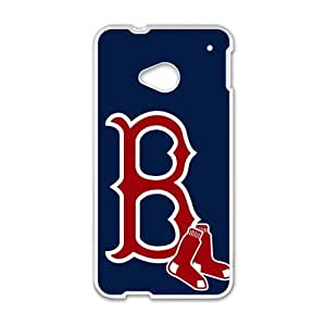 SANLSI Boston Red Sox Cell Phone Case for HTC One M7