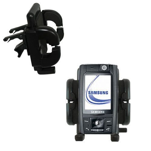 (Gomadic Air Vent Clip Based Cradle Holder Car / Auto Mount suitable for the Samsung SGH-D800)