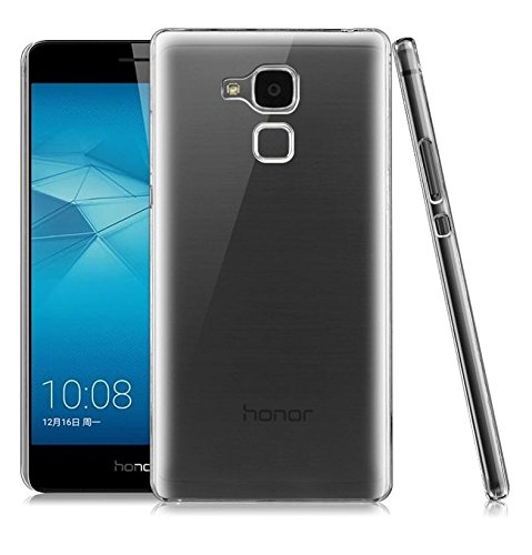 Heartly Transparent Clear Crystal Hot Thin Hard Back Case Cover for Huawei Honor 5C   Crystal View