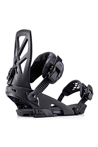 Ride Capo 2019 Snowboard Binding - Men's Black Large (Best Freestyle Bindings 2019)