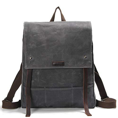 Tela color Igspfbjn Para Gray Hombres Bandolera Gray Viaje De Impermeable Batik Bolsa Retro qFgngfv4