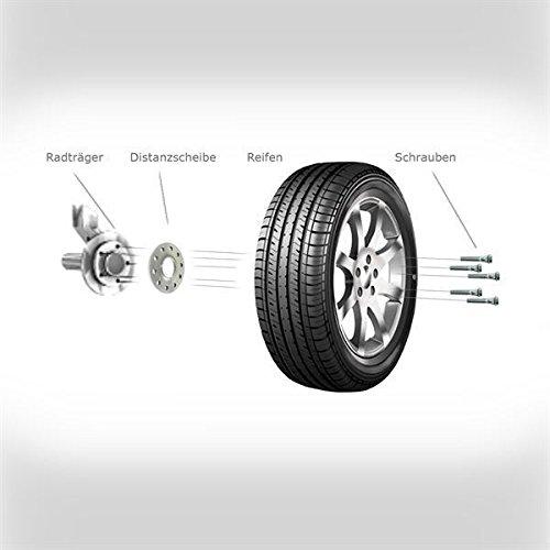 Radschrauben VA 30 mm//HA 40 mm TuningHeads//H/&R .0506670.DK.B3055571-B4055571.BUS-T4 Spurverbreiterung Blackline