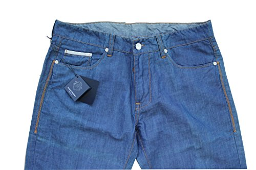 Paul Schaf Milano Jens Denim Herren TG. 46 Made in Italy