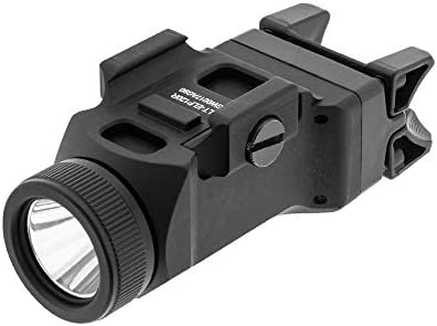 UTG Sub-Compact Pistol Light, 200 Lumen, Picatinny Mount, Black LT-ELP120R