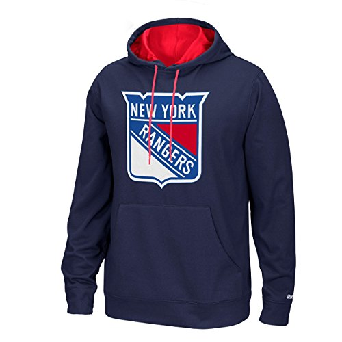 NHL New York Rangers Men's Face-Off Playbook Hoodie, Medium, Blue