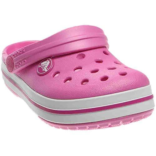 2959d3c36fce4 crocs Kids' Crocband K Clog, Party Pink, 6 M US Toddler - Import It All