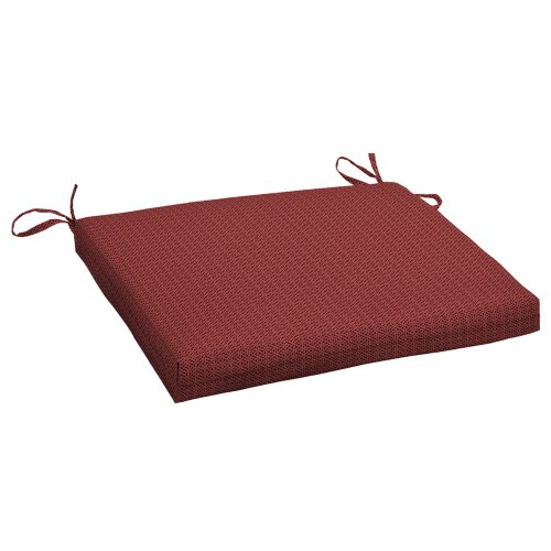 Arden Companies Strathwood Gibranta Hardwood Arm Chair Polyester Cushion, Colette Moonstone (Furniture Outdoor Strathwood)
