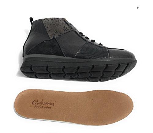 Femme Noir Pour Clocharme Baskets Baskets Clocharme Pour Femme U0wq76xY