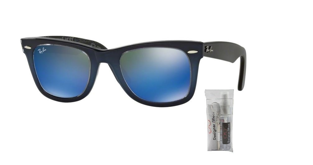 Ray Ban RB2140 120368 50M Top Blue Grad On Light Blue/Mirror Blue by Ray-Ban (Image #1)